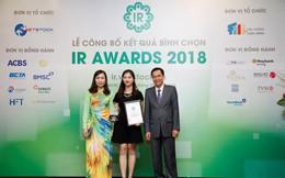 Digiworld nhận 2 giải thưởng DN niêm yết có hoạt động IR tốt nhất năm 2018