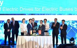 VinFast hợp tác với Siemens sản xuất xe buýt điện chất lượng cao