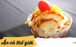 Ở Mỹ có một món nhìn giống kem, gọi bằng kem nhưng... lại không phải là kem