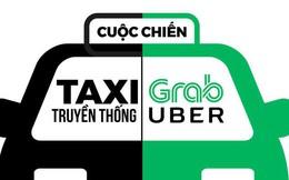 """Grab tấn công mảng khách hàng doanh nghiệp, """"miếng bánh"""" lớn của taxi truyền thống"""