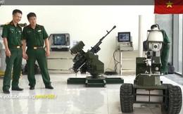 """Cận cảnh robot chiến đấu tự hành """"Made in Việt Nam"""": không sợ thời tiết khắc nghiệt, tự động sử dụng vũ khí tiêu diệt mục tiêu"""