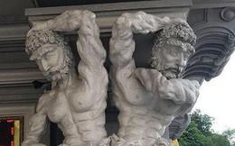 """Công viên ở Hải Phòng trưng bày loạt tượng hài hước: """"Những bức tượng đã có hơn 10 năm nay, không hiểu sao mọi người lại xôn xao"""""""