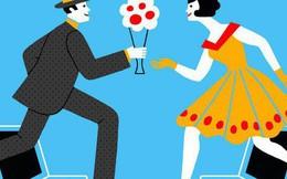 Kinh doanh cũng như hẹn hò, muốn thành công bạn phải toàn tâm toàn ý với mục tiêu như khi theo đuổi tình yêu của cuộc đời