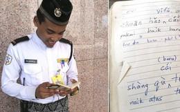 Chuyện chàng trai bảo vệ người Malaysia biết 7 ngôn ngữ trong vòng 15 tháng: Bạn nghĩ gì khi bản thân mỗi Tiếng Anh học mãi không xong?