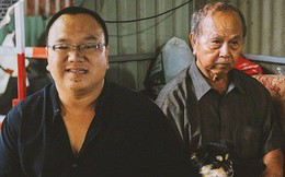 """Chuyện anh nhân viên mồ côi cưu mang ông lão ve chai và chú chó nhỏ: """"Anh xem chú như ba, vì anh cũng chỉ có một mình ở đất Sài Gòn này"""""""
