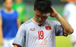 Quang Hải đổ máu, Duy Mạnh đau đớn rời sân trong ngày Olympic Việt Nam làm nên lịch sử