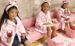 """Spa cho trẻ con tại Thượng Hải: lối sống thượng hạng của các """"ngôi sao nhí"""""""
