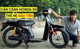 Thợ Việt hồi sinh Honda SH đời đầu 1984 từ đống phế liệu thành hàng hiếm trên phố