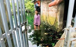 Vùng lũ ngoại thành Hà Nội: Nỗi lo bệnh tật