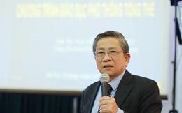 GS Nguyễn Minh Thuyết nói về sách giáo khoa mới