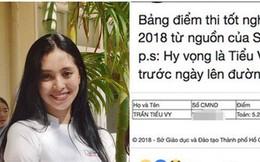 Hoa hậu Trần Tiểu Vy nói gì về bảng điểm tốt nghiệp yếu kém, môn cao nhất chỉ đạt 5,2 điểm?