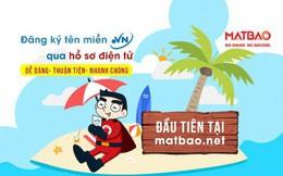 Mắt Bão chính thức triển khai dịch vụ đăng ký tên miền .vn qua hồ sơ điện tử đầu tiên tại Việt Nam