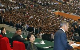 Chùm ảnh lịch sử: Khi Tổng thống Hàn Quốc phát biểu trước hàng trăm nghìn người dân Triều Tiên