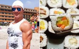 Một mình ăn hết 100 đĩa sushi, anh vận động viên Đức bị cấm cửa vĩnh viễn khỏi nhà hàng buffet Nhật