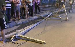 Công an vào cuộc điều tra vụ thanh sắt rơi làm 2 người đi đường thương vong ở Hà Nội