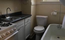 Mỹ: Nhiều người sẵn sàng bỏ 13 triệu/tháng để thuê căn phòng siêu nhỏ, bồn cầu và lò nướng đặt cạnh nhau