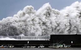 Hình ảnh có thật, nhìn như ngày tận thế trên phim: siêu bão Jebi lớn nhất trong 25 năm qua đổ bộ vào Nhật Bản