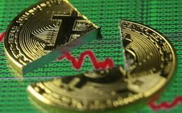 """Giá Bitcoin sụt mạnh, vốn hóa tiền ảo """"bốc hơi"""" 30 tỷ USD"""