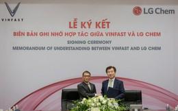 VinFast bắt tay với LG sản xuất pin cho xe điện, điện thoại