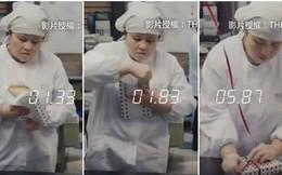 Đoạn video khiến người ta phải hoa mắt chóng mặt với tốc độ làm việc nhanh hơn cả máy của người Nhật Bản