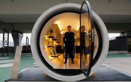 Hong Kong xây nhà trong đường ống nước