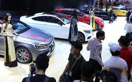 Vượt mốc 2 tỷ USD, nhập khẩu ôtô năm 2017 vẫn giảm