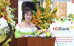 HDBank lên sàn chứng khoán, tài sản của bà Nguyễn Thị Phương Thảo tăng thêm gần 1.400 tỷ đồng