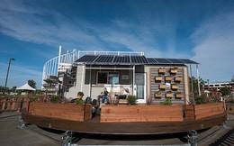 Cận cảnh ngôi nhà 22m2 có thể tự xoay để đón nắng