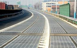 Vừa khai trương, đoạn đường lát pin mặt trời của Trung Quốc đã bị trộm ghé thăm