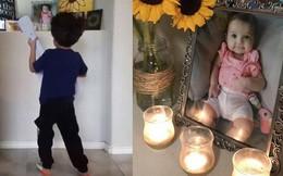 Cậu bé 4 tuổi đánh đàn, hát nhạc phim Coco trước tấm ảnh em gái và câu chuyện thực sự khiến nhiều người cảm động