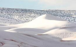 Thế giới lạnh siêu mạnh đến mức sa mạc Sahara nóng bỏng cũng bị tuyết phủ tới 40 cm