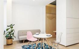 Căn hộ 30m² được thiết kế và bài trí đẹp không kém gì căn hộ cao cấp