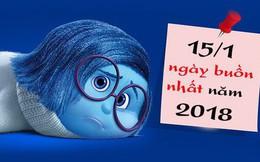 Bạn biết gì chưa? Hôm nay 15/1 được tính là ngày buồn nhất trong năm đấy!