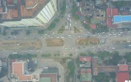 Đường đẹp nhất Việt Nam rộng thênh thang qua góc máy từ trên cao