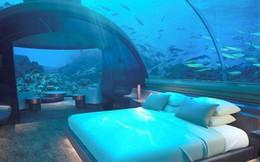 Bên trong khách sạn dưới biển đầu tiên trên thế giới, nơi bạn có thể ngủ cạnh cá mập với chi phí 1 tỷ/1 đêm