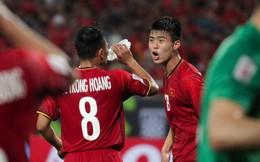 """Sau trận thắng Malaysia, không ai ở tuyển Việt Nam có thể vượt mặt Duy Mạnh về độ """"gắt"""""""