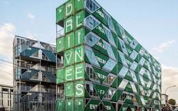 """Tham quan """"khu chung cư"""" độc đáo tại Nam Phi, nơi cư dân sinh sống trong 140 container đầy đủ tiện nghi"""