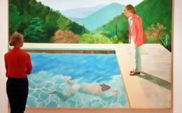 """Bức vẽ """"hai người bên bể bơi"""" này có giá kỷ lục 2.000 tỷ đồng nhưng tại sao nó lại đắt thế?"""