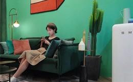 Muốn hưởng thụ cuộc sống tự lập, cô gái 18 tuổi tự tay thiết kế căn hộ rộng 36m² chất lừ