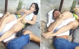 Trấn lột nhầm nữ võ sĩ, tên cướp nằm khóc giữa đường vì bị nạn nhân đánh