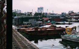 """Bến du thuyền hồ Tây xa hoa một thời sao lại biến thành """"nghĩa địa"""" hoang tàn thế này?"""