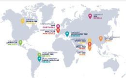 Đây chính là những quốc gia bán xe rẻ nhất và đắt nhất từng phân khúc