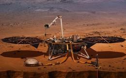 """Sau """"7 phút kinh hoàng"""", tàu thăm dò InSight của NASA đã hạ cánh thành công xuống bề mặt Sao Hỏa. Đây là hình ảnh đầu tiên nó gửi về"""
