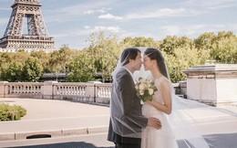 """Trọn bộ ảnh cưới tại Pháp của Á hậu Thanh Tú và ông xã doanh nhân trước """"giờ G"""" hôn lễ"""