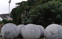 """Đã tìm ra vị trí """"bí ẩn"""" của 40 quả cầu đá sau khi bị di dời khỏi sân Mỹ Đình"""