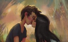 Bộ tranh tình yêu vĩ đại là thế nhưng đôi khi bắt nguồn từ những điều nhỏ bé không ngờ!