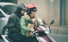 Rét quá Hà Nội ơi: Nhiệt độ còn 14 độ C, người người trùm áo ấm khăn len xuống phố