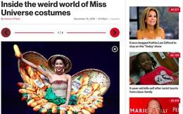 """Báo Mỹ chỉ đích danh bộ """"Bánh mì"""" của H'Hen Niê là một trong những trang phục """"dị"""" nhất Miss Universe 2018"""
