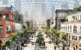 Nếu một ngày biến đổi khí hậu khiến thế giới bên ngoài không thể sống nổi, Dubai đã có câu trả lời