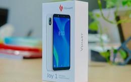 Mở hộp Vsmart Joy 1, smartphone rẻ nhất của Vinsmart
